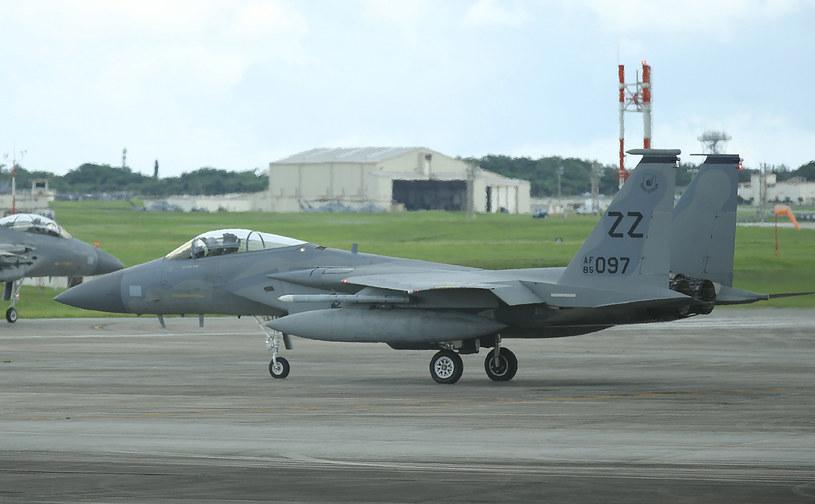 F-15; Zdj. ilustracyjne /JIJI PRESS /AFP