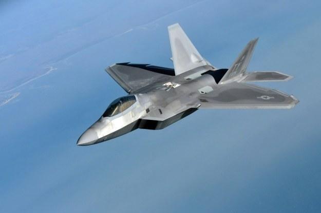 F-22. Fot. Air National Guard photo/Senior Airman Justin Hodge /materiały prasowe