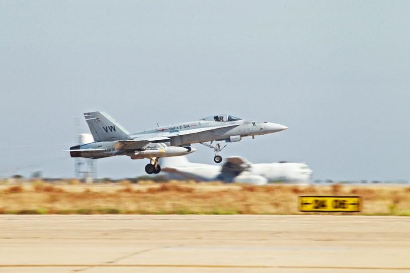 F/A-128 Hornet /CPL. JAMEAN BERRY /PAP/EPA
