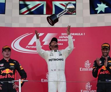 F1: Hamilton już tylko o włos od kolejnego tytułu