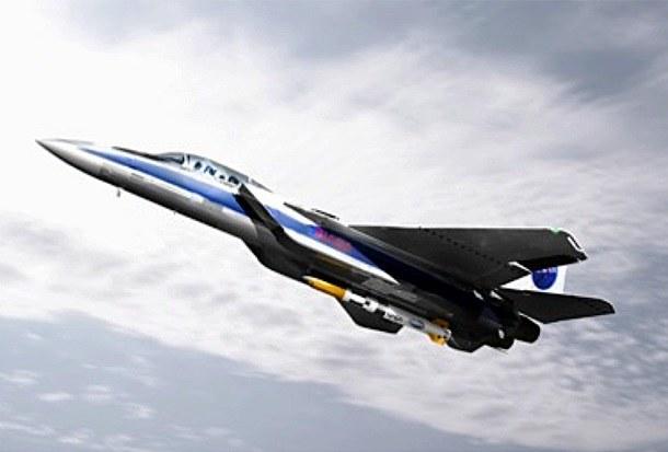 F15E przenoszący rakietę ALASA. /materiały prasowe