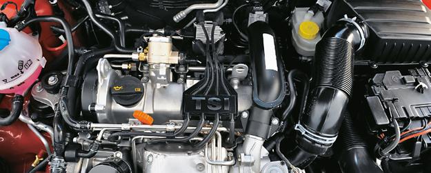 FABIA: 1.2 TSI 86-105 KM dobrze jeździ, ale zużywa olej przy wyższych obrotach. /Motor