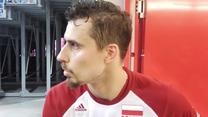Fabian Drzyzga po meczu Polska - Francja (2:3)