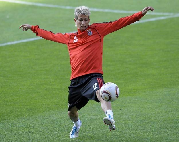 Fabio Coentrao został w środę nowym graczem Realu Madryt /AFP