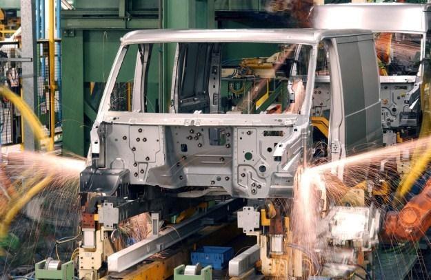 Fabryka Forda w Sunderland, gdzie produkowano Transity /