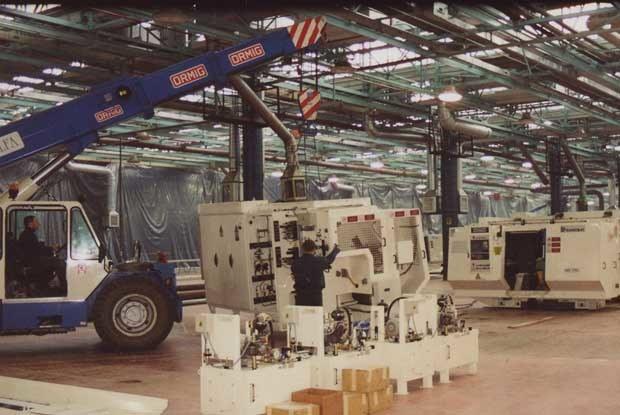 Fabryka jest już prawie gotowa /INTERIA.PL