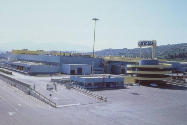 Fabryka w Termini Imerese /