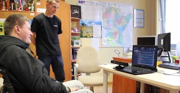 """""""Face Controller"""" może spełniać rolę niedrogiego rozwiązania, dzięki któremu osoby niepełnosprawne będą mogły samodzielnie korzystać z komputera /INTERIA.PL"""