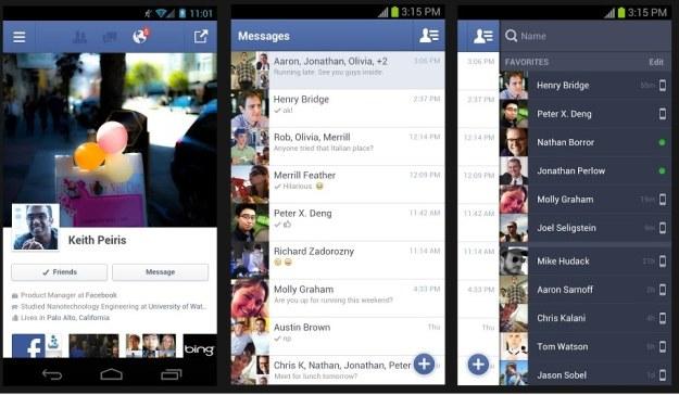 Facebook dla systemu Android /materiały prasowe