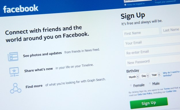 Facebook ma ponad 1,3 mln użytkowników /AFP