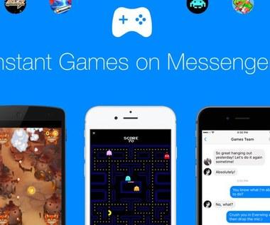 Facebook Messenger wprowadza gry