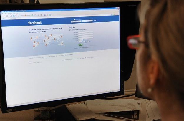 Facebook wcale nie jest taki zły... /AFP