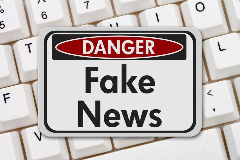 Fake News to bardzo groźne zjawisko /123RF/PICSEL