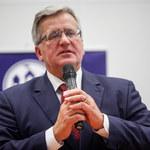 """""""Fakt"""": Bronisław Komorowski chce do europarlamentu"""