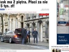 """Fakt"": Luksusy Tuska w Brukseli"