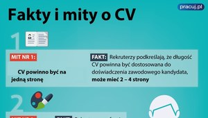 Fakty i mity o pisaniu CV