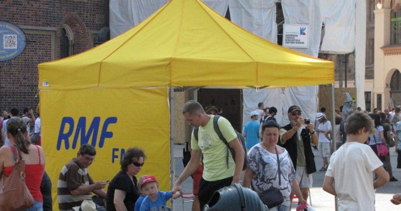 Fakty RMF FM wprost z krakowskiego Rynku!