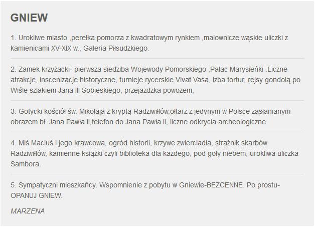 Fakty z Twojego Miasta Zgłoszenie Gniewu /RMF24 /RMF24