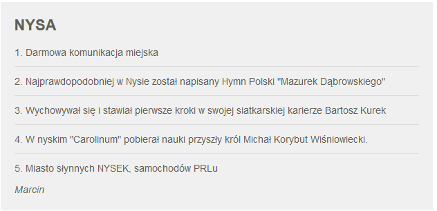 Fakty z Twojego Miasta. Zgłoszenie Nysy /RMF24