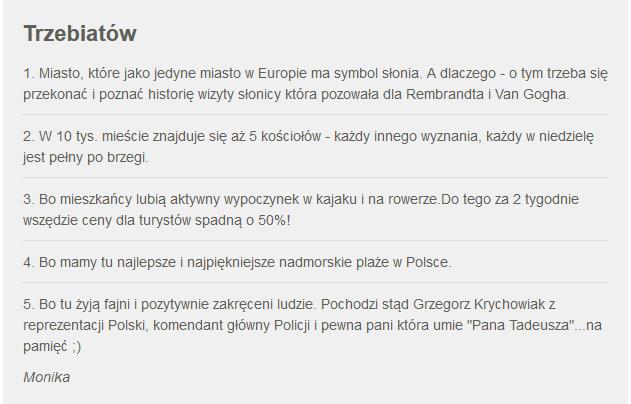 Fakty z Twojego Miasta. Zgłoszenie Trzebiatowa /RMF24
