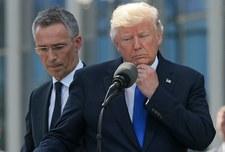 """Fala krytyki po wystąpieniu Trumpa .""""Duży cios dla NATO"""""""