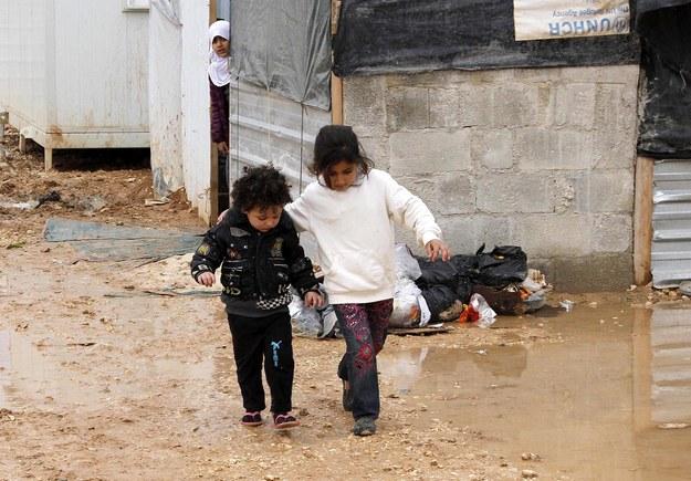 Fala zimna doskwiera syryjskim uchodźcom