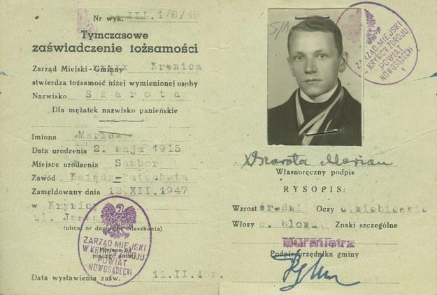 Fałszywe dokumenty ks. Władysława Gurgacza /IPN