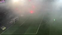 Fani Cracovii zaatakowali racami sektor Wisły. Wideo
