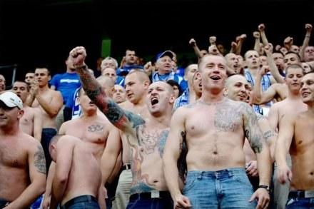 Fani Lecha jadą dopingować swój zespół w starciu z Club Brugge /AFP