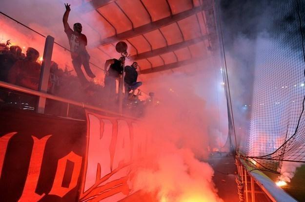 Fani Olympiakosu Pireus /AFP
