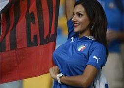 Fanka reprezentacji Włoch