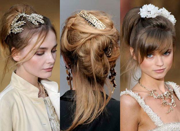 Fantazyjne ozdoby sprawią, że twoja fryzura stanie się ciekawsza /East News/ Zeppelin