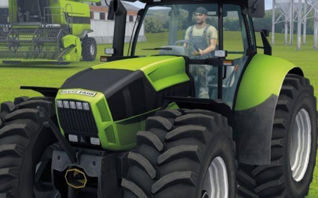 Farming Simulator 2012 3D - motyw graficzny /Informacja prasowa