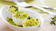 Faszerowane jaja na rzeżusze