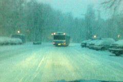 Fatalne warunki do jazdy na drogach Małopolski