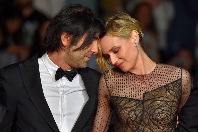 Fatih Akin i Diane Kruger w Cannes /AFP