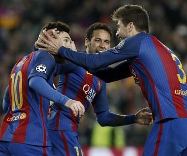 FC Barcelona - PSG 6-1 w 1/8 finału Ligi Mistrzów!