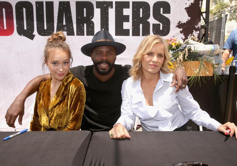 """Fear the Walking Dead"" na San Diego Comic Con: Alycia Debnam-Carey, Colman Domingo, Kim Dickens /Jesse Grant /Getty Images"