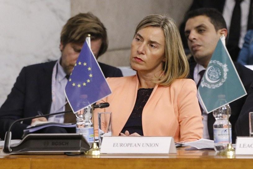Federica Mogherini /Fabio Frustaci /PAP/EPA