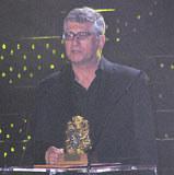 Feliks Falk ze Złotym Lwem /INTERIA.PL