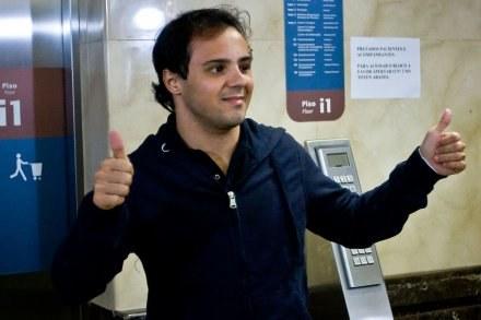 Felipe Massa dochodzi do siebie po wypadku /AFP