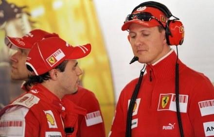 Felipe Massa wraca do zdrowia i żartuje na temat Schumachera /ASInfo/INTERIA.PL