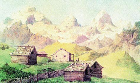 Felix Mendelssohn, Wspomnienia z wyprawy z Mürren do Lauterbrunnen, 1847 r. /Encyklopedia Internautica