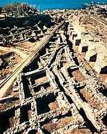 Fenicja, ruiny antycznego miasta w Byblos /Encyklopedia Internautica