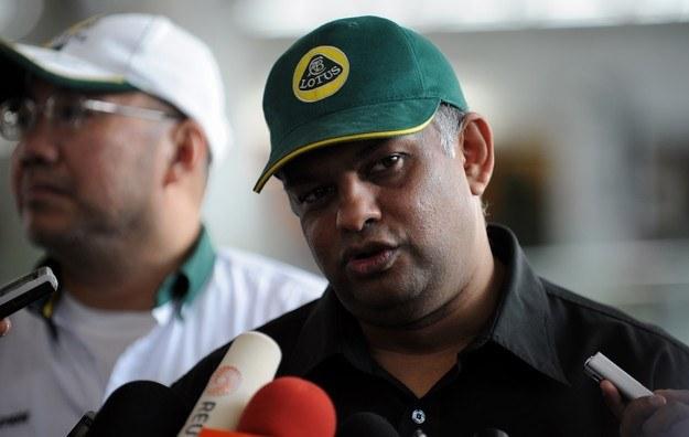 Fernandes, szef ekipy Lotusa /INTERIA.PL