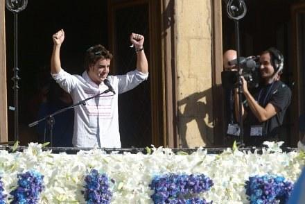 Fernando Alonso uważa, że Kubica będzie trudnym rywalem /AFP