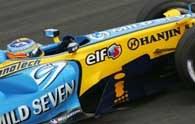 Fernando Alonso wygrał GP Bahrajnu /AFP