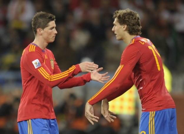 Fernando Llorente (z prawej) zastępuje Fernando Torresa /AFP
