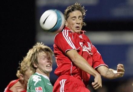 Fernando Torres - nowa gwiazda Liverpoolu /AFP