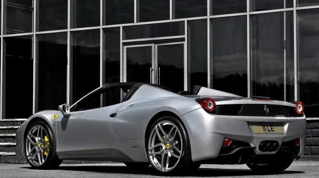 Ferrari 458 Italia Spider od Kahn Design /Ferrari